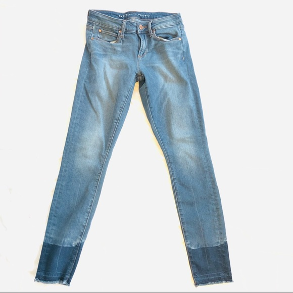 Articles Of Society Denim - Articles of society skinny jeans raw hem